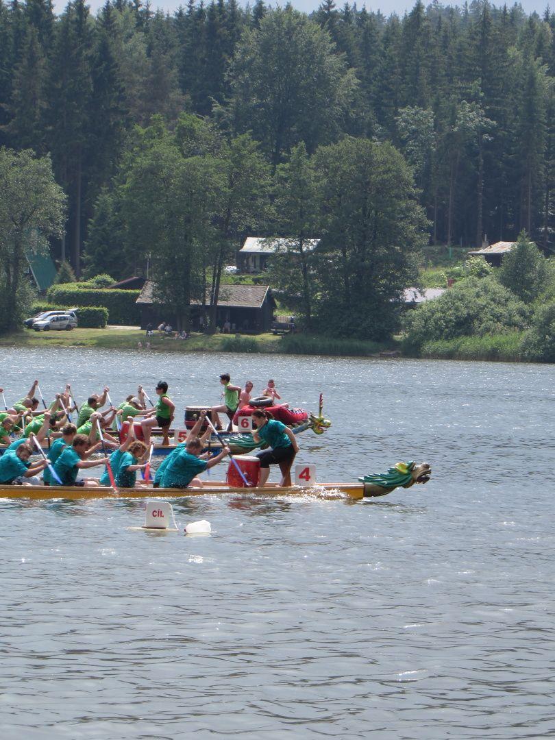 Dračí lodě Řeka 2015 - KVAKundy Team